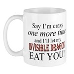 Invisible Dragon Mugs