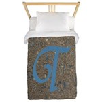 Monogram T Series Twin Duvet