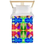 Rainbow Kaleidoscope Butterflies Twin Duvet