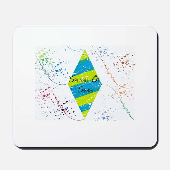 Splash of Sims Mousepad