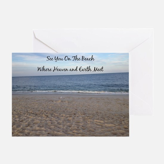 Beach Heaven Greeting Card