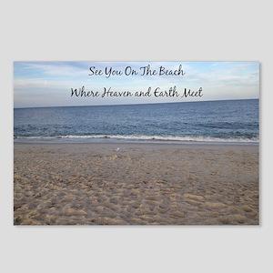 Beach Heaven Postcards (Package of 8)