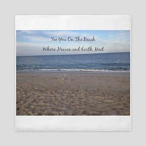 Beach Heaven Queen Duvet