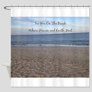 Beach Heaven Shower Curtain
