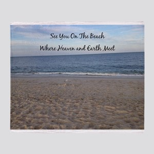 Beach Heaven Throw Blanket
