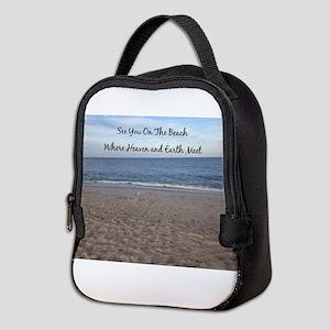 Beach Heaven Neoprene Lunch Bag