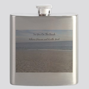 Beach Heaven Flask