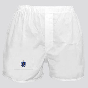 Massachusetts Flag Boxer Shorts