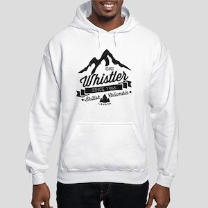 Whistler Mountain Vintage Hooded Sweatshirt