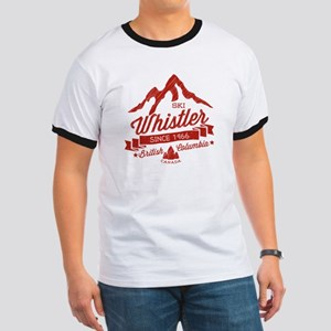Whistler Mountain Vintage Ringer T