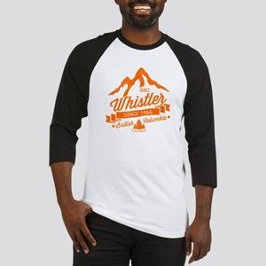 Whistler Mountain Vintage Baseball Jersey