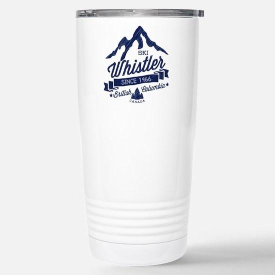 Whistler Mountain Vinta Stainless Steel Travel Mug