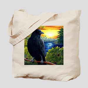 Bird 63 crow raven Tote Bag
