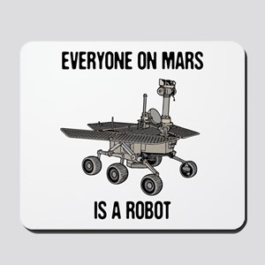 Mars Census Mousepad