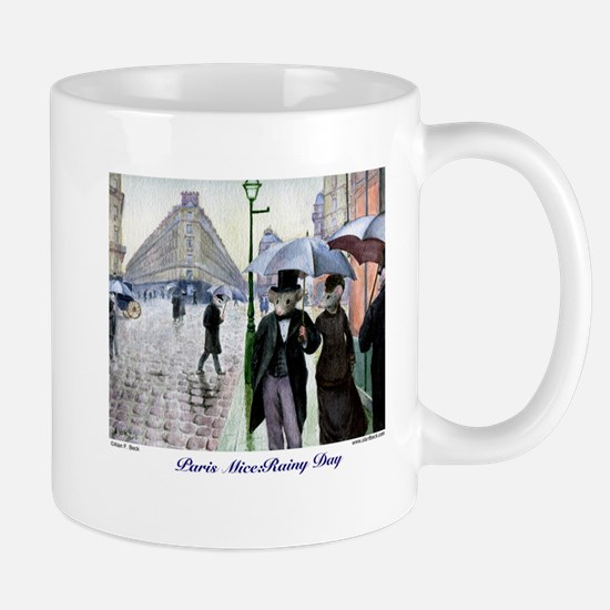 Paris Mice:rainy Day Mugs