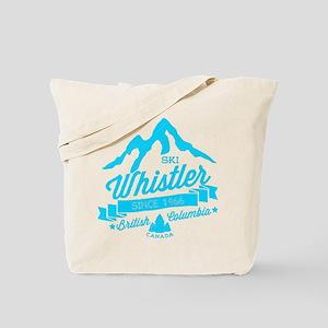 Whistler Mountain Vintage Tote Bag