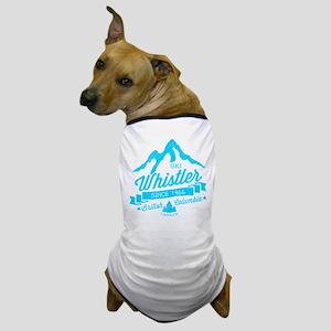 Whistler Mountain Vintage Dog T-Shirt