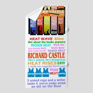 Richard Castle Beach Towel