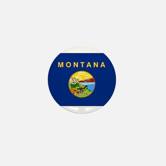 Montana Flag Mini Button