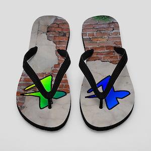 GRAFFITI #1 T Flip Flops