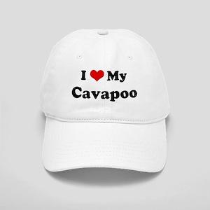 I Love Cavapoo Cap