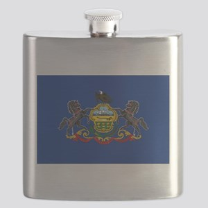 Pennsylvania Flag Flask