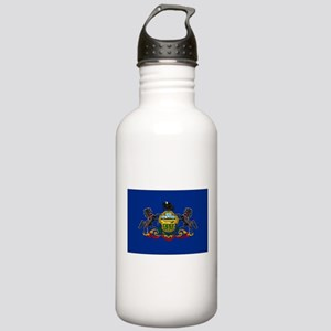 Pennsylvania Flag Water Bottle