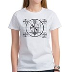 TV Test Pattern Women's T-Shirt