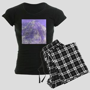 Images in the Mountain Women's Dark Pajamas
