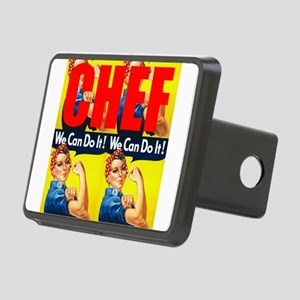 Chef Rosie the Riveter We Can Do It Hitch Cover