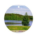 Mid-summer day Ornament (Round)