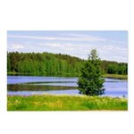Mid-summer day Postcards (Package of 8)