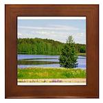 Mid-summer day Framed Tile