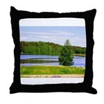 Mid-summer day Throw Pillow