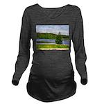 Mid-summer day Long Sleeve Maternity T-Shirt
