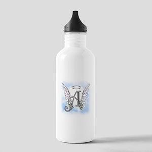 Letter A Monogram Water Bottle