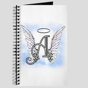 Letter A Monogram Journal