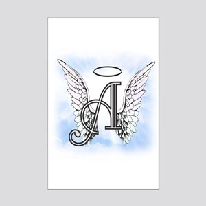 Letter A Monogram Posters