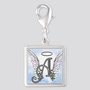Letter A Monogram Charms
