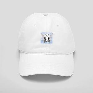 Letter D Monogram Baseball Cap
