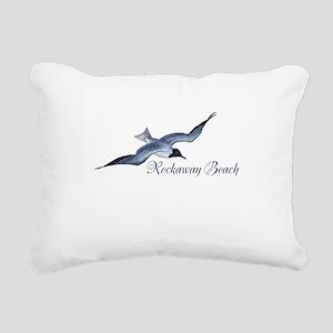 Rockaway Beach Rectangular Canvas Pillow