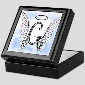 Letter G Monogram Keepsake Box