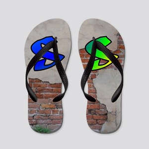 GRAFFITI #1 S Flip Flops