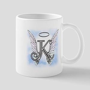 Letter K Monogram Mugs