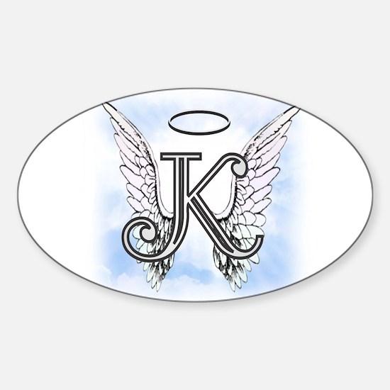 Letter K Monogram Decal