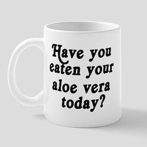 aloe vera today Mug