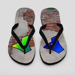 GRAFFITI #1 P Flip Flops