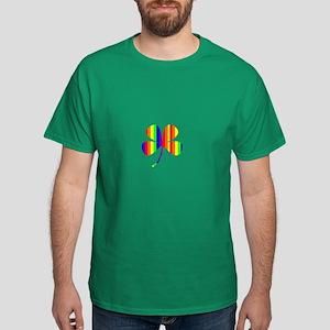 4 Leaf Clover Rainbow Pot O Gold 17 T-Shirt
