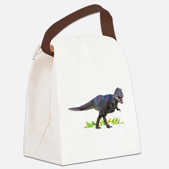 T-rex polygon art style triangles geometry abstrac