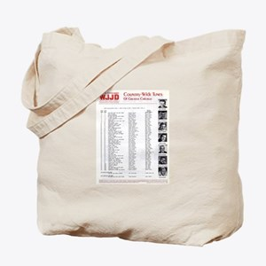 WJJD 1971 Survey Tote Bag